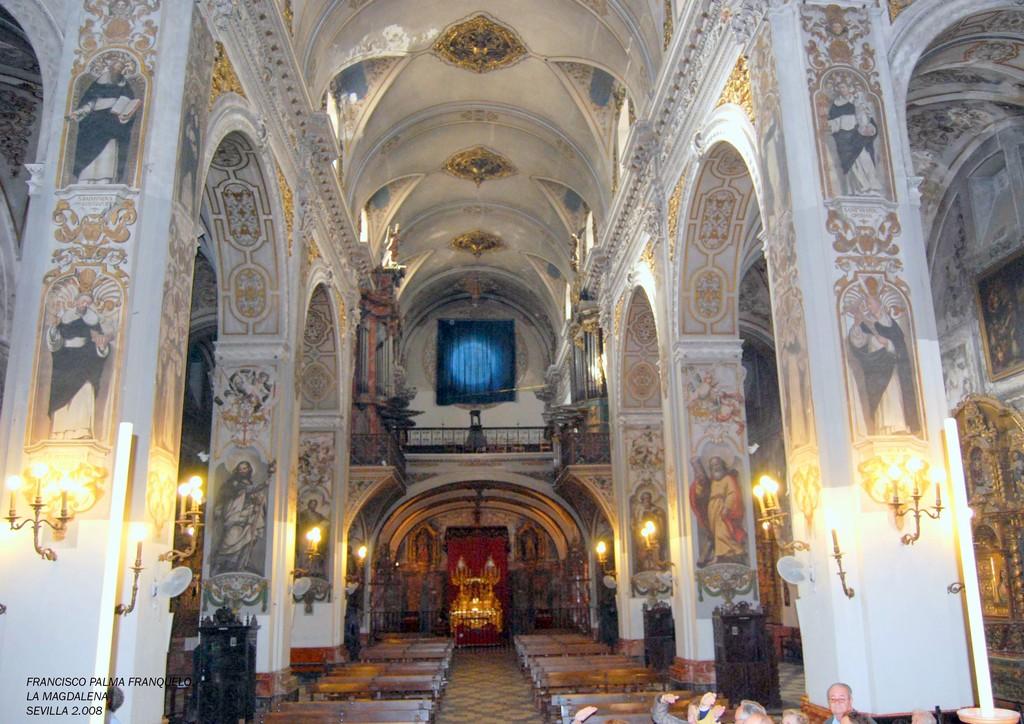 Sevilla iglesia de la magdalena 4 sevilla en fotografias for Villas la magdalena 4