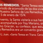 Sevilla 2015. Santa Teresa de Jesús (9)